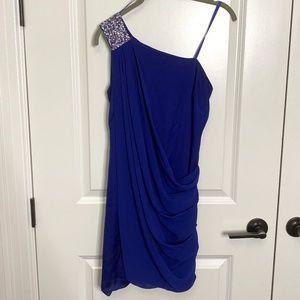 Cache Blue Mini Dress